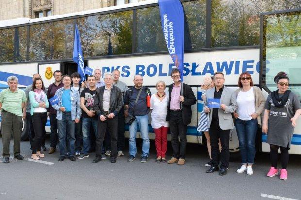 Bolesławianie na antypisowskim marszu 7 maja