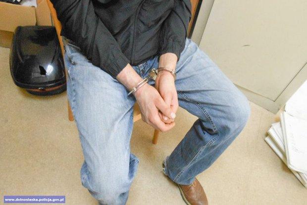 Dobrze znany mundurowym przestępca zatrzymany. Tym razem ukradł… skuter