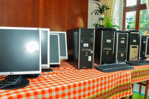 Komputery dla wychowanków Domu Dziecka