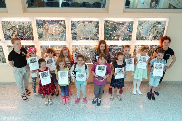 Wernisaż wystawy dzieci z pracowni BOK-MCC