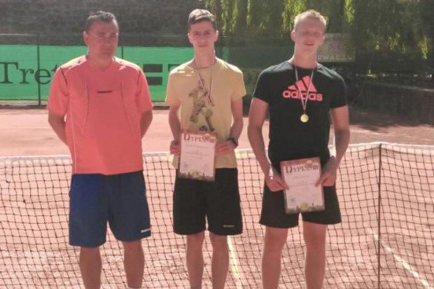 Nicolas Twardowski ponownie wicemistrzem Dolnego Śląska w tenisie ziemnym