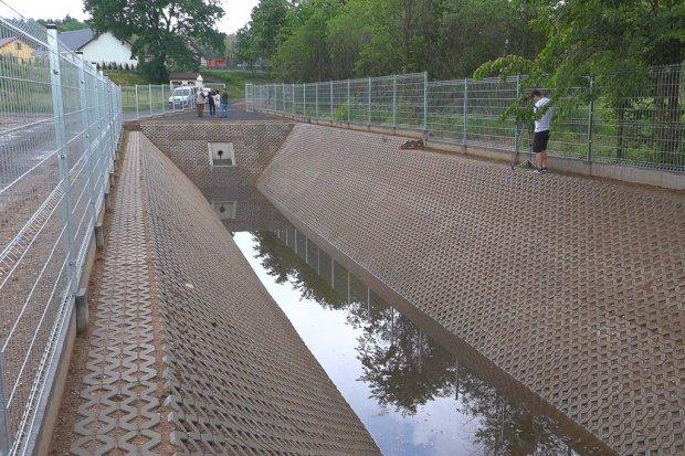 Powstał zbiornik dla odwodnienia ulic Zabobrze, Kamiennej i Bazaltowej