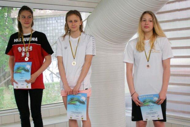 Bolesławianka medalistką mistrzostw województwa w pływaniu