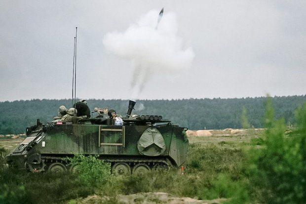 Polsko-amerykańskie wsparcie ogniowe