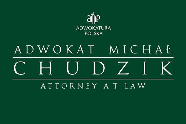 Informacja o otwarciu Kancelarii Adwokackiej Michała Chudzika