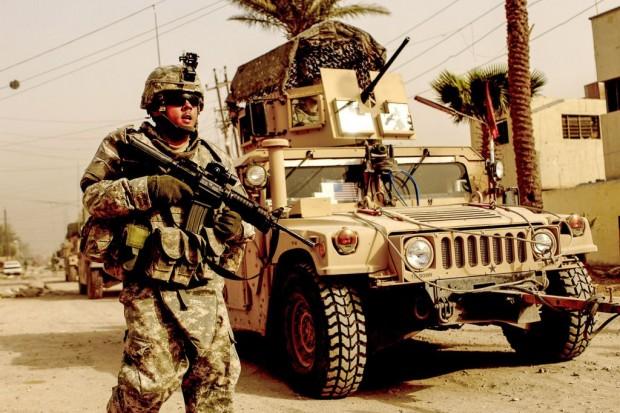 Pokaz sprzętu wojskowego US Army