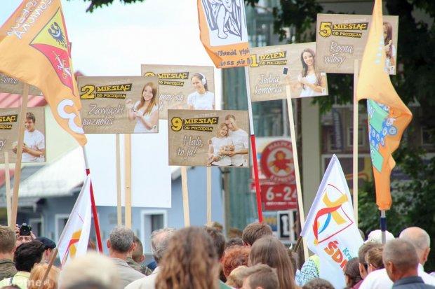 Marsz radykalnych katolików był mało popularny