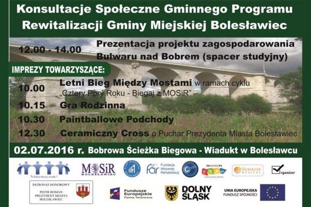 Konsultacje społeczne projektu uchwały Rady Miasta Bolesławiec w sprawie przyjęcia Gminnego Programu Rewitalizacji Gminy Miejskiej Bolesławiec