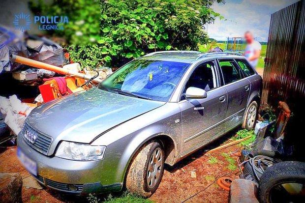 Policjanci odzyskali Audi. Paser wpadł metamfetaminą i extazy
