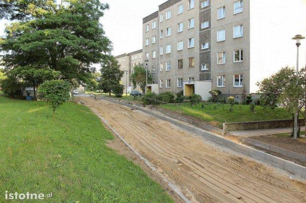 Trwa przebudowa ul. Kleeberga. Co z miejscami parkingowymi?