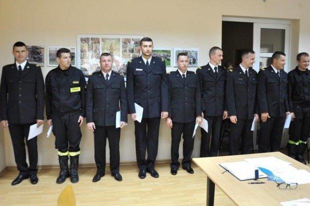 Bolesławieccy strażacy z awansami