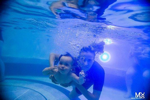 Wakacyjne kursy nauki pływania dla niemowląt i dzieci na Termach Bolesławiec