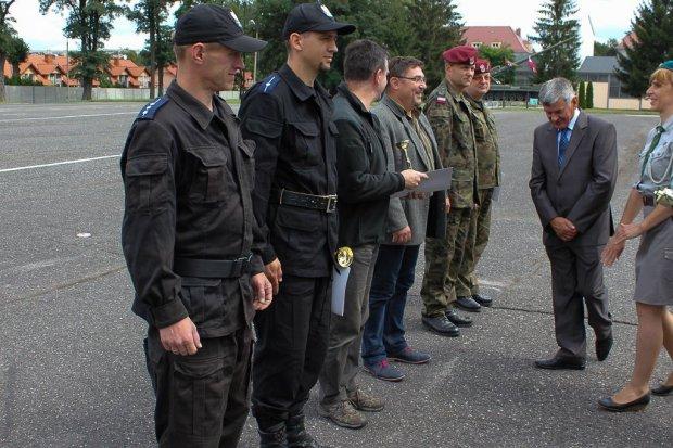 Bolesławieccy policjanci trzeci w turnieju strzeleckim