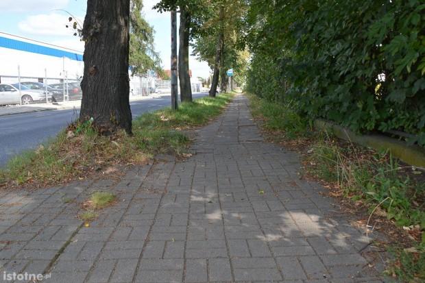 Miasto zapłaci za remont powiatowego chodnika przy ul. Dolne Młyny