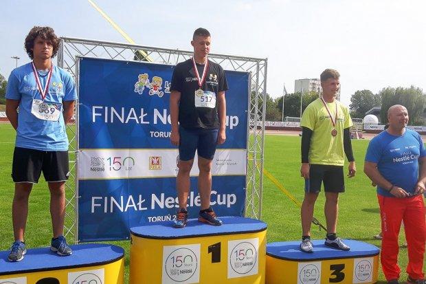 Bolesłavia: Gracjan Kozak ze złotym medalem Nestlé Cup, Julia Rogula z brązowym