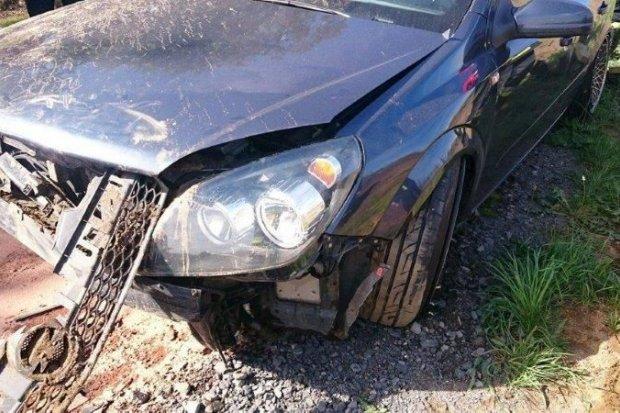 Wypadek pod Bolesławcem – jedna osoba ranna