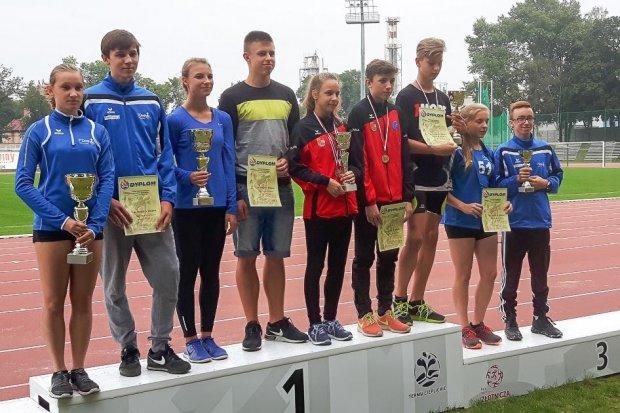 Lekkoatleci Bolesłavii najlepsi w międzynarodowym meczu młodzików