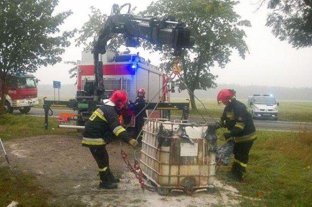 Samorządy nie informowały o kwasie i ewakuacji w Kruszynie. Dlaczego?