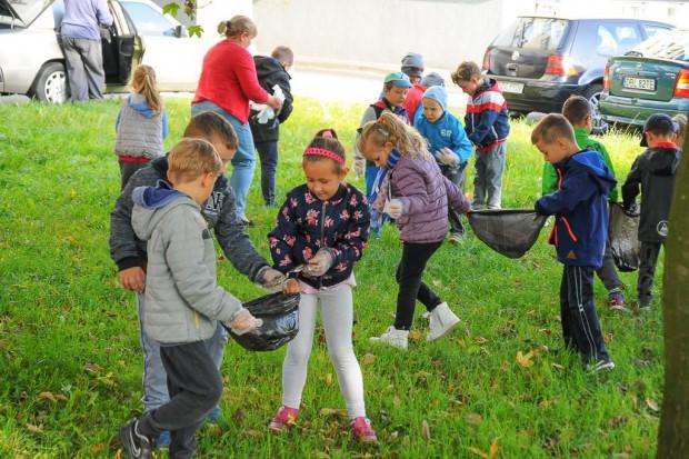 Najmłodsi posprzątali Bolesławiec