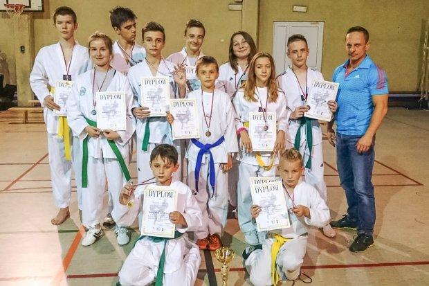 Zawodnicy Gladiusa drudzy w Turnieju Taekwondo w Bogatyni