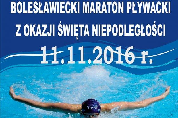 Bolesławiecki Maraton Pływacki z okazji Święta Niepodległości
