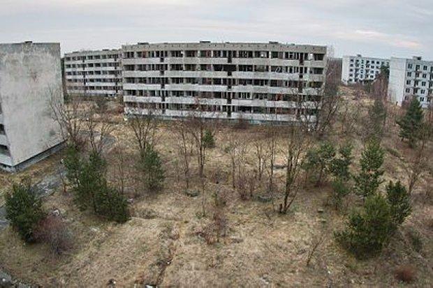 Pstrąże, poradzieckie miasto-widmo, zostanie zburzone