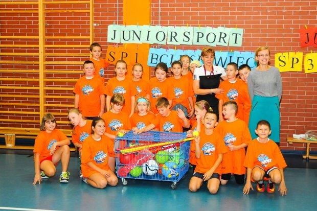 Junior Sport, Umiem Pływać oraz Mały Mistrz w bolesławieckich szkołach