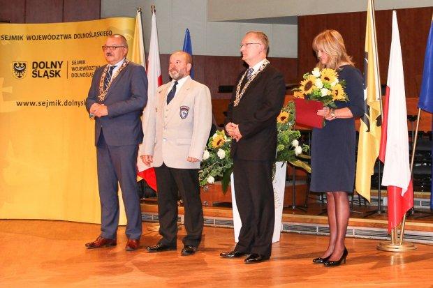 Bogdan Fiałkowski z Commando doceniony przez marszałka Przybylskiego