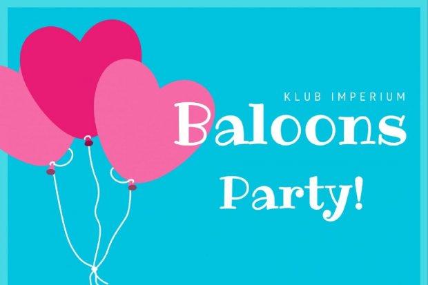 200 balonów z niespodziankami w Imperium na początek weekendu