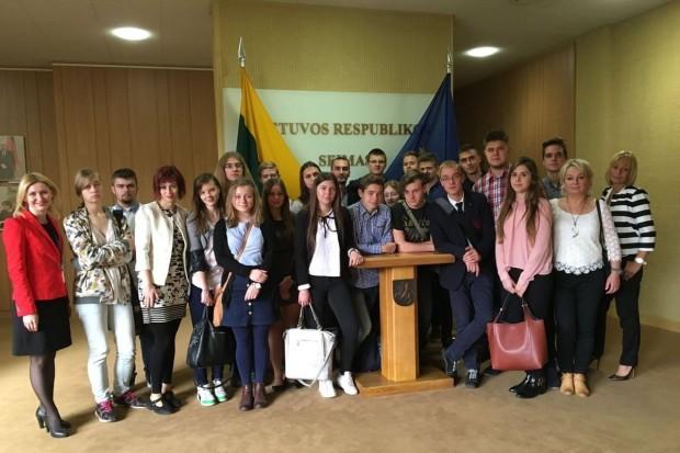 Bolesławiecka młodzież na obozie naukowym w Wilnie