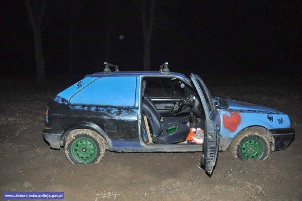 Uciekał przed policją ukradzionym w Niemczech VW. Seryjny złodziej zatrzymany
