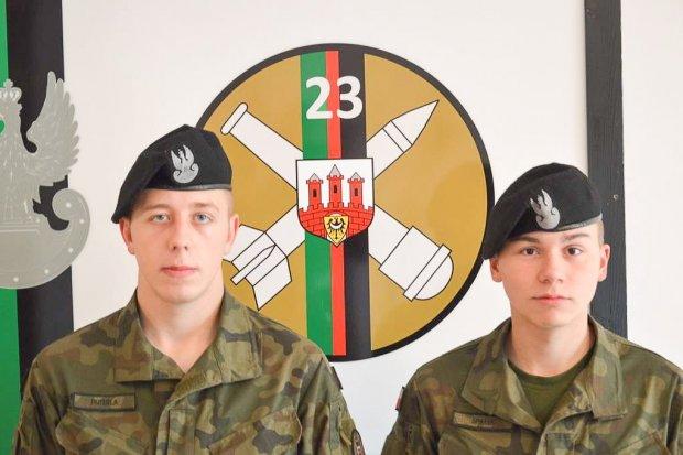Żołnierze z 23 Pułku Artylerii uratowali życie starszemu mężczyźnie we Wrocławiu