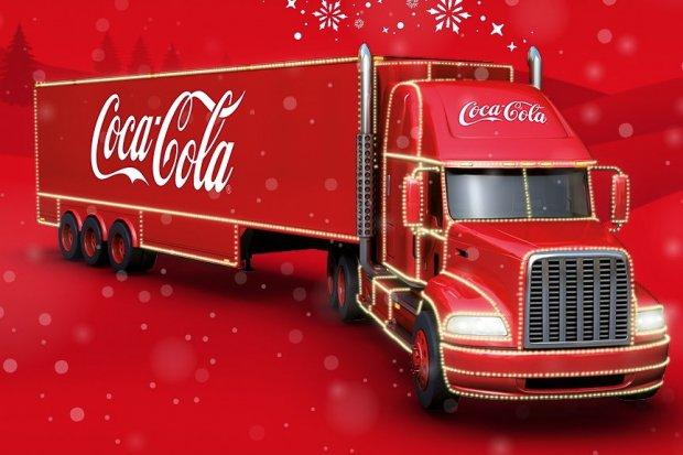 Świąteczna Ciężarówka Coca-Coli zawita do Bolesławca
