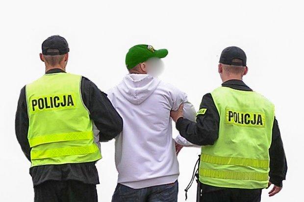 Policjant w czasie wolnym od służby rozpoznał poszukiwanego przestępcę w sklepie