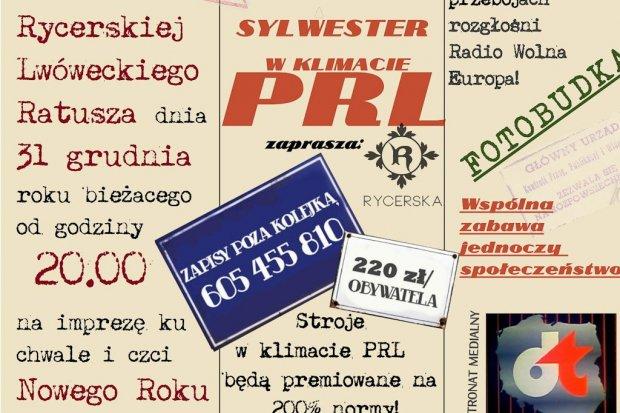 Sylwester w Klimacie PRL w rewelacyjnej cenie dla obywatela