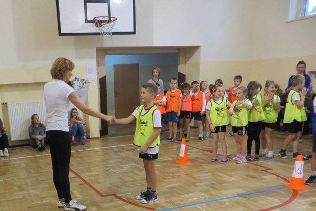Ogólnopolski projekt sportowy w Szkole Podstawowej nr 2