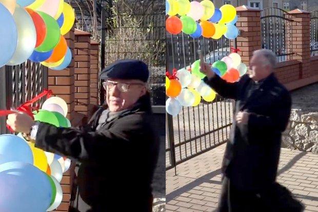 Beka: prezydent przeciął wstęgę na bramie, ksiądz poświęcił balony