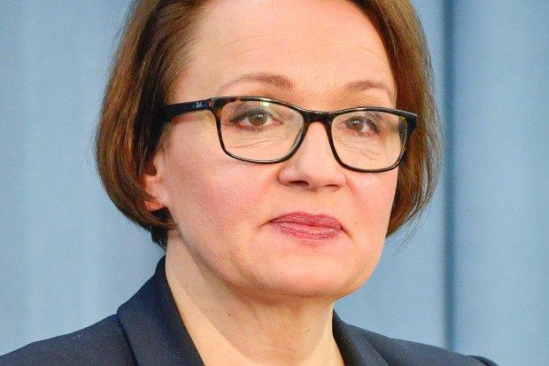 Napadli na minister edukacji Annę Zalewską? Sprawą zajmie się prokuratura