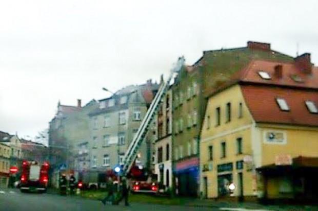 Akcja strażaków przy Zgorzeleckiej