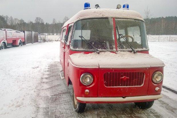 Dolnośląscy strażacy w Muzeum Pożarnictwa w Oseredku na Lubelszczyźnie