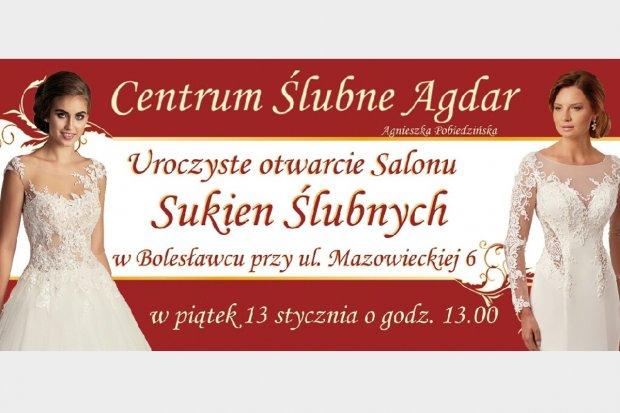 Centrum Ślubne Agdar otwiera swój salon w Bolesławcu