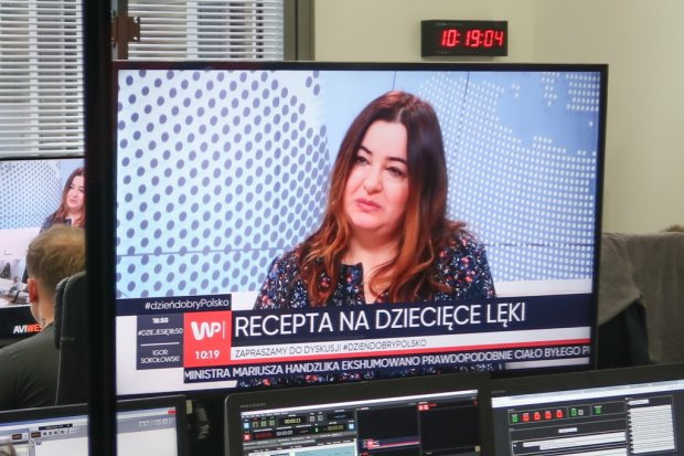 Gościliśmy w telewizji Wirtualnej Polski promując bajkę wydaną przez istotne.pl