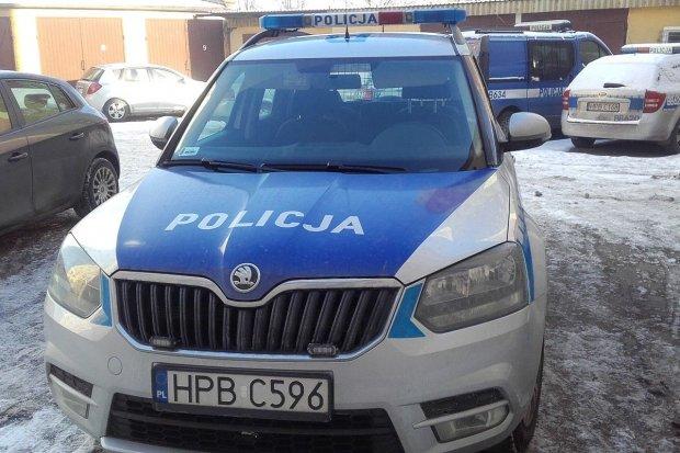 Nowy radiowóz dla policjantów z Kruszyna