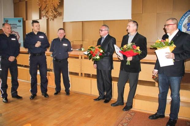 Trzej jeleniogórscy policjanci na zasłużonej emeryturze