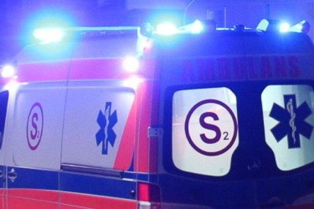 Wypadek, dwie osoby zginęły, droga na Zgorzelec zablokowana
