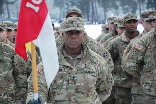 W Świętoszowie już powitano Amerykanów i rozpoczęto wspólne szkolenie
