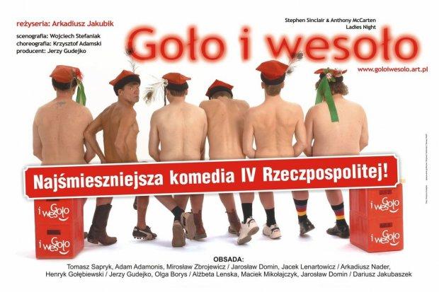 """Komedia """"Goło i wesoło"""" na deskach Forum"""