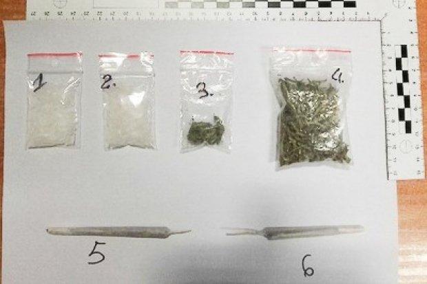 Znany policji 34-latek wpadł z piko i marihuaną