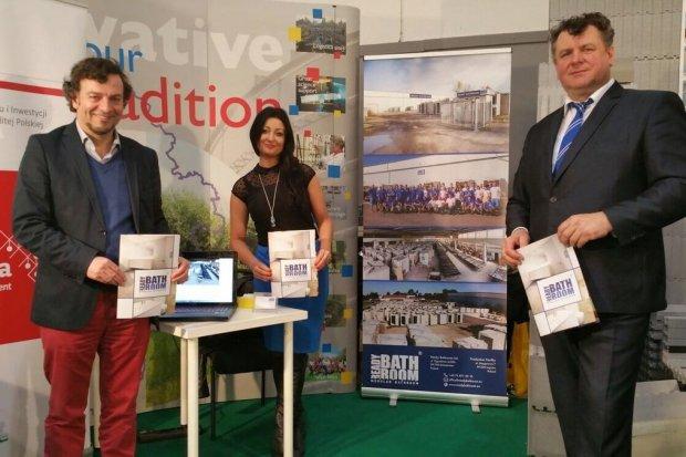 Bolesławiecka Ensila Group oraz Ready Bathroom prezentowały w Brukseli ofertę polskiej branży budowlanej