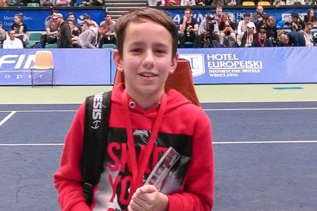 Sukces tenisisty z Tenis Park Bolesławiec na Wrocław Open 2017